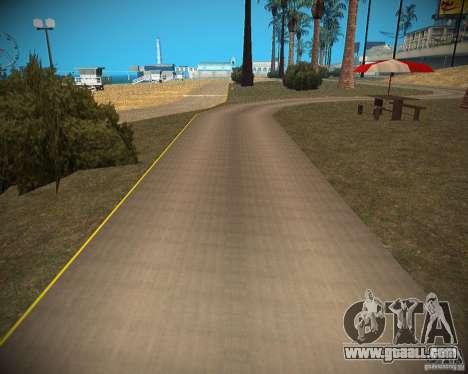 New textures beach of Santa Maria for GTA San Andreas seventh screenshot