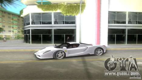 Ferrari Enzo for GTA Vice City left view
