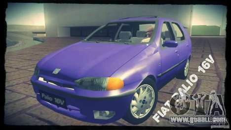 Fiat Palio 16v for GTA San Andreas