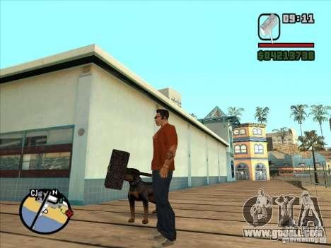Hammer Of The WarCraft III for GTA San Andreas third screenshot