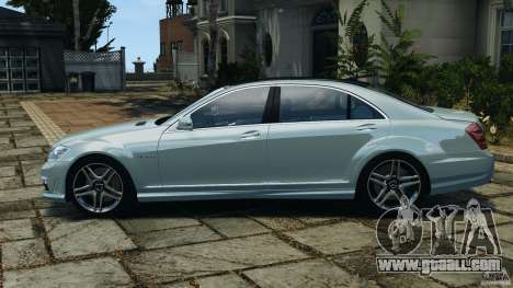 Mercedes-Benz S65 AMG 2012 v1.0 for GTA 4 back left view