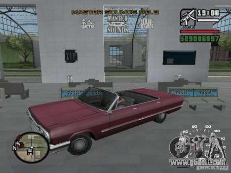 Radio Art (icons Radio in GTA IV) for GTA San Andreas