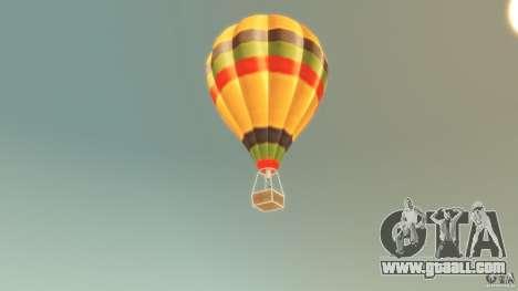 Balloon Tours original for GTA 4 back left view