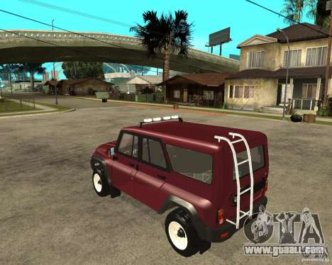UAZ-3159 (Hunter) for GTA San Andreas left view