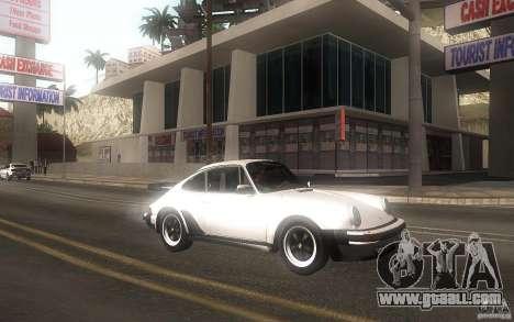 Porsche 911 Turbo 1982 for GTA San Andreas left view