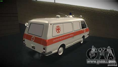 RAF 22031 ambulance for GTA San Andreas right view