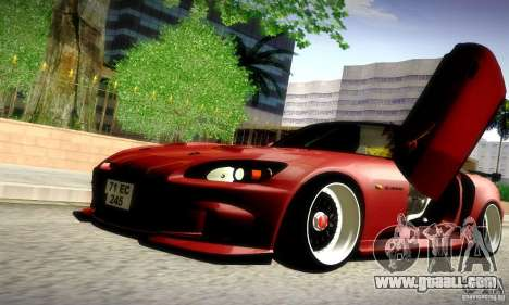 Honda S2000 JDM Tuning for GTA San Andreas upper view