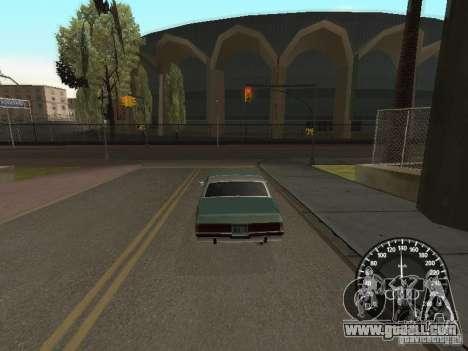 Speedometer Audi for GTA San Andreas second screenshot