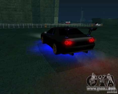 NEON mod for GTA San Andreas second screenshot