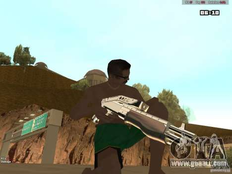 Weapon Pack V1.0 for GTA San Andreas forth screenshot