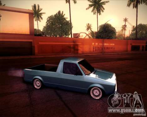 Volkswagen Caddy Custom 1980 for GTA San Andreas right view