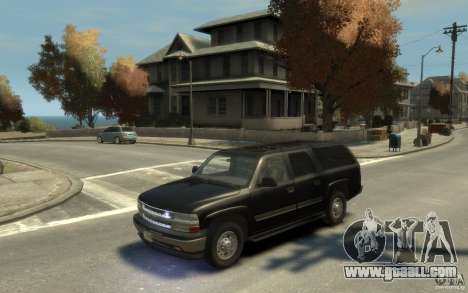 Chevrolet Suburban 2003 FBI for GTA 4