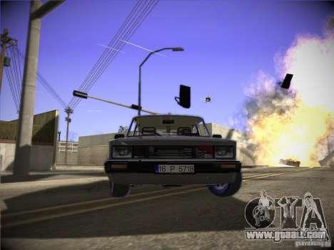 Tofas 124 Serçe for GTA San Andreas left view