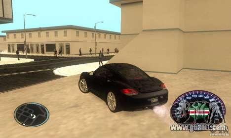 Chechen Speedometr for GTA San Andreas