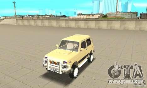 VAZ 21213 4 x 4 for GTA San Andreas
