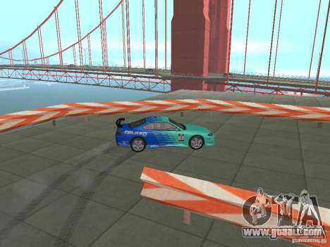 New Drift Track SF for GTA San Andreas seventh screenshot