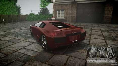 Lamborghini Murcielago v1.0b for GTA 4 side view