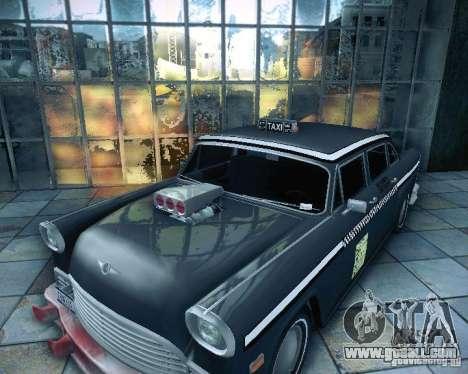 Diablo Cabbie HD for GTA San Andreas right view