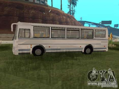 PAZ 4230 Aurora for GTA San Andreas back left view