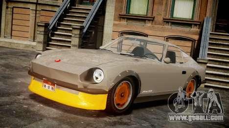 Nissan 260ZX Fairlady Z for GTA 4