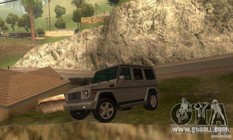 Mercedes-Benz G500 (W463) 2008 for GTA San Andreas left view