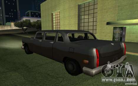 Civilian Cabbie for GTA San Andreas left view