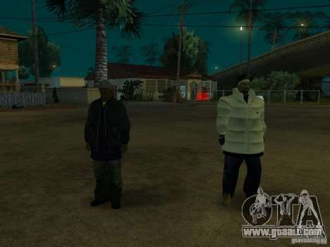 New skins for Groove for GTA San Andreas third screenshot