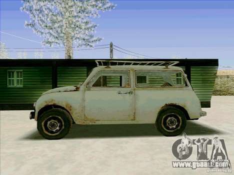 Car from COD 4 MW for GTA San Andreas right view