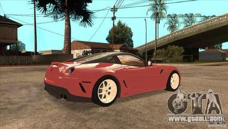 Ferrari 599 GTO 2010 V1.0 for GTA San Andreas right view