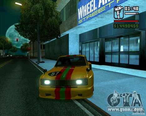 Nissan Skyline 2000gtr for GTA San Andreas left view