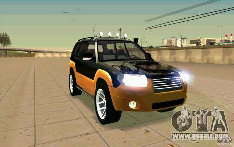 Subaru Forester Cross Sport 2005 for GTA San Andreas side view