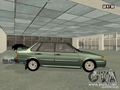 VAZ 2115 Drain for GTA San Andreas left view