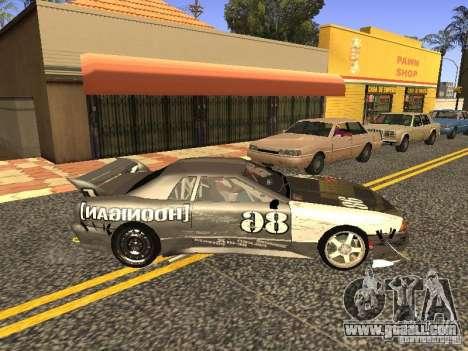 Elegy Drift Korch v2.1 for GTA San Andreas back view