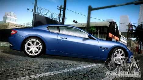 Maserati Gran Turismo 2008 for GTA San Andreas left view