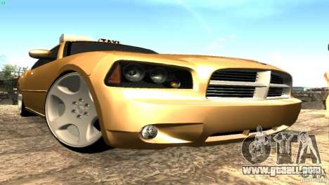 Dodge Charger SRT8 Re-Upload for GTA San Andreas left view
