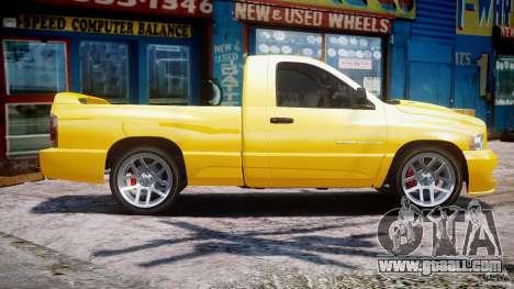 Dodge Ram SRT-10 2003 1.0 for GTA 4 left view