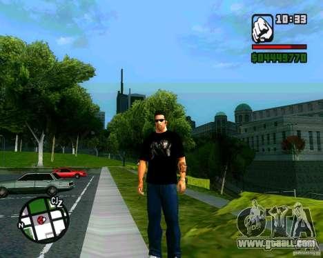 T-shirt AVP for GTA San Andreas