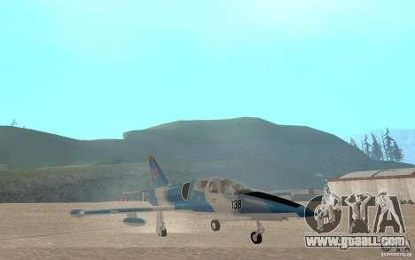 L-39 Albatross for GTA San Andreas inner view