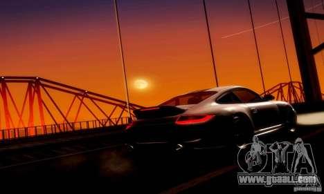 Porsche 911 Sport Classic for GTA San Andreas inner view