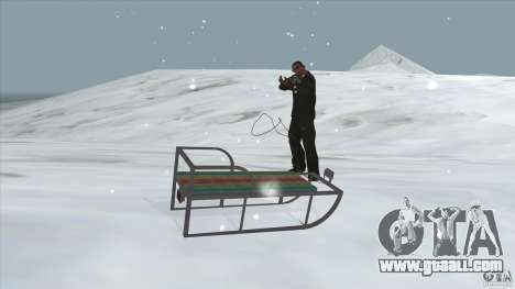 Sledge for GTA San Andreas right view
