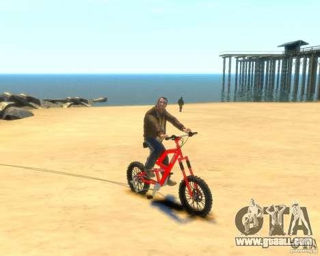 Mountain bike for GTA 4