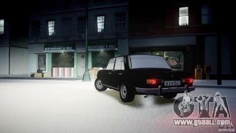 Wartburg 353 W Deluxe for GTA 4 left view