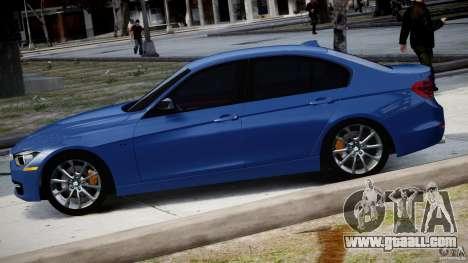 BMW 335i E30 2012 Sport Line v1.0 for GTA 4 left view