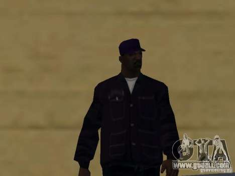 New skins Ballas for GTA San Andreas sixth screenshot