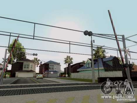RAILWAY crossing RUS V 2.0 for GTA San Andreas forth screenshot