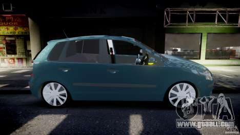 Volkswagen Polo 1998 for GTA 4 side view