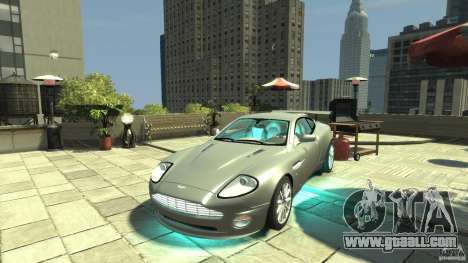 Aston Martin Vanquish S v2.0 without toning for GTA 4
