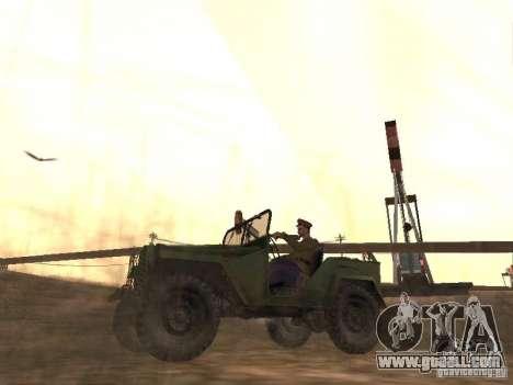 Soviet officer BOB for GTA San Andreas second screenshot
