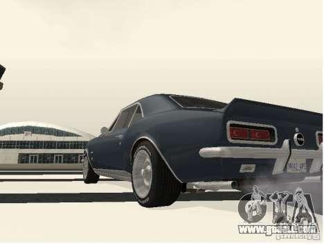 Chevrolet Camaro SS 396 Turbo-Jet for GTA San Andreas right view