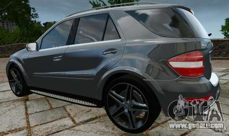 Mercedes-Benz ML63 AMG for GTA 4 back left view